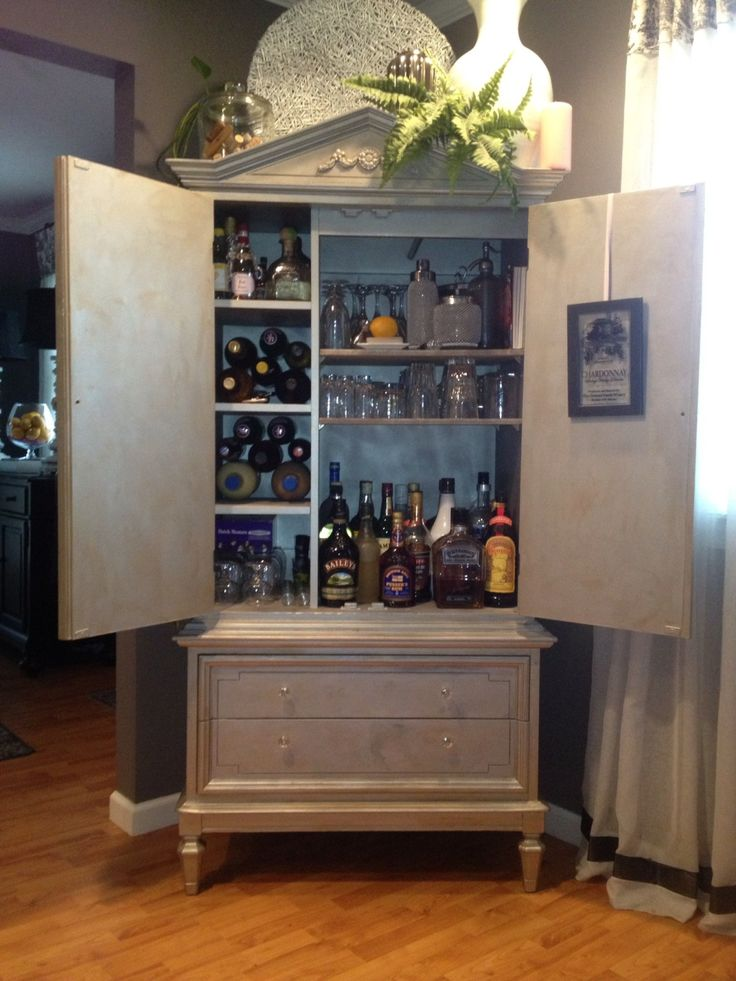 25 Best Ideas About Armoire Bar On Pinterest Armoire