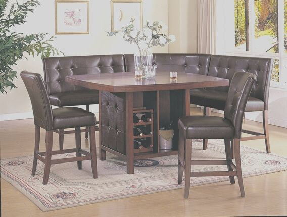 11 Lovable Kitchen Booth Sets Photography In 2020 Counter Height Dining Room Tables Dining Room Chairs Counter Height Dining Sets