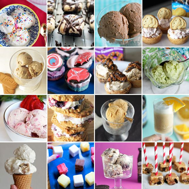 15 Yummy Ways to Make Homemade Ice Cream via Brit + Co.