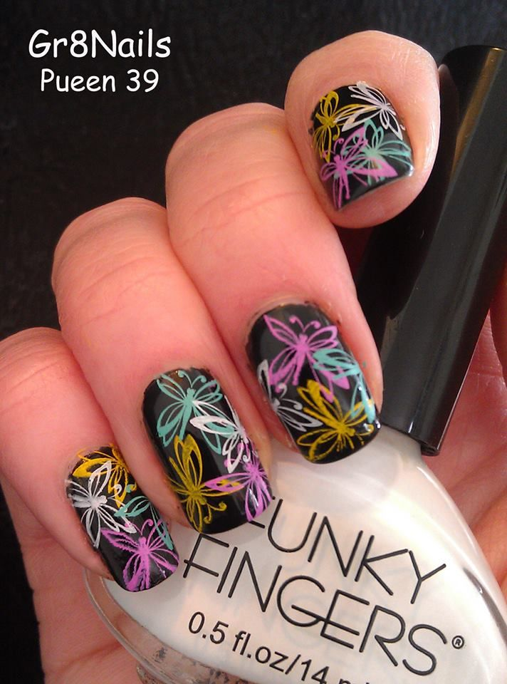 102 best pueen nail art images on pinterest enamels make up and pueen 39 nail art by prinsesfo Choice Image