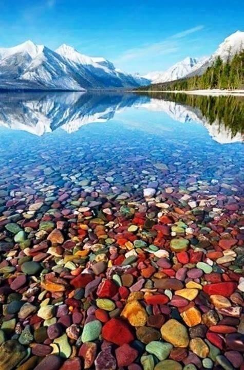 Lago McDonald, Estados Unidos