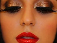 moulin rouge makeup - Google Search