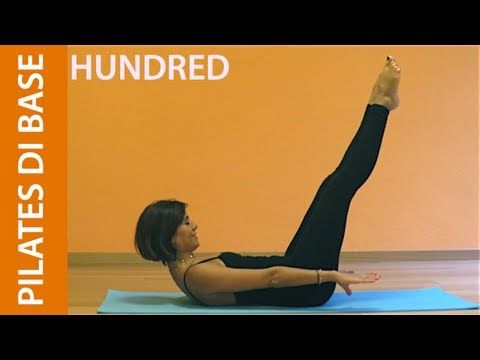 Pilates - Esercizi di Base - Hundred