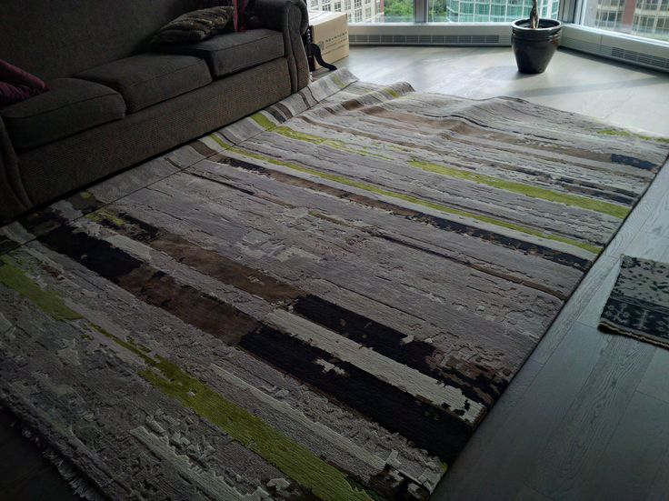 The Colin Campbell rug at my place.   Hemp made the texture a little rough on the feet.
