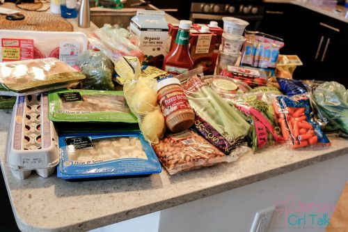 Healthy Grocery Shopping List at Trader Joe's #mealprep #grocerylist #healthy #cleaneating