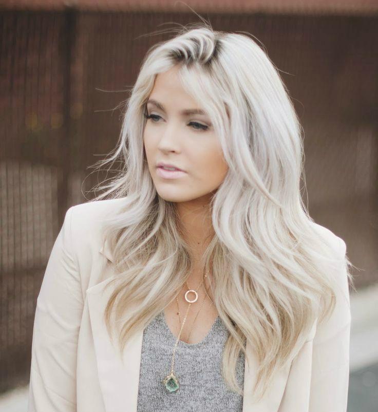 Como cuidar de cabelos platinados! - Moda it