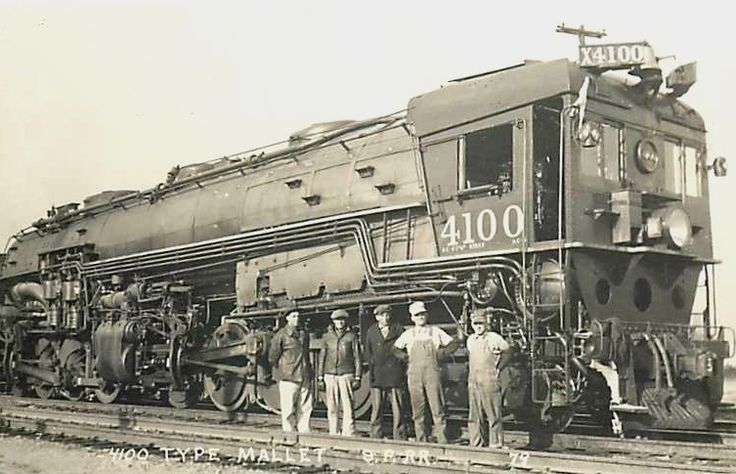 Southern Pacific Railroad's AC-4 class of steam locomotives was the first class of 4-8-8-2 cab forward locomotives. They were intended to improve on the railroad's MC class 2-8-8-2 locomotives with a larger firebox. The AC-4s were the first SP Mallets built for simple expansion. Baldwin Locomotive Works built them in August through October 1928 with a maximum cutoff of 70%, so tractive effort was rated at 112,760 lbf (501.6 kN); a few years later limited cutoff was dropped and calculated…