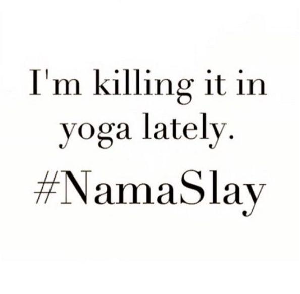 Namaslay.                                                                                                                                                      More