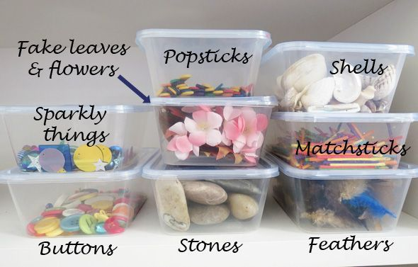 Loose parts for imaginative play