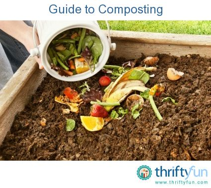 A gardner's guide to composting...  @Leah Wood