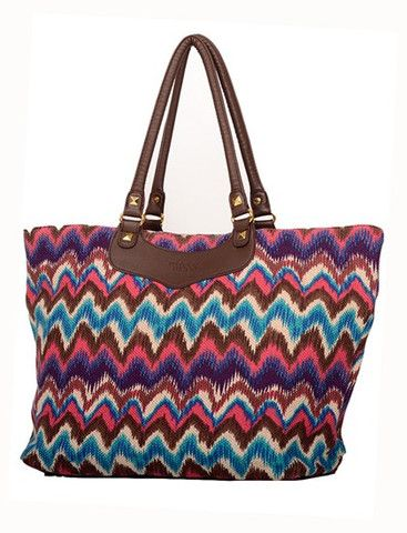 Mary & Marie beach tote/shopper. Beautifully made from 70% recycled plastic bags. Makes a fabulous baby bag with fully removable lining with handles creating two bags from one.  On sale $49.90 from www.bohocic.com.au