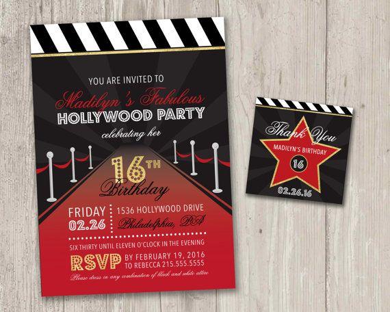 Hollywood debut invitation wordings invitationjpg best 25 hollywood invitations ideas on proms tickets stopboris Gallery