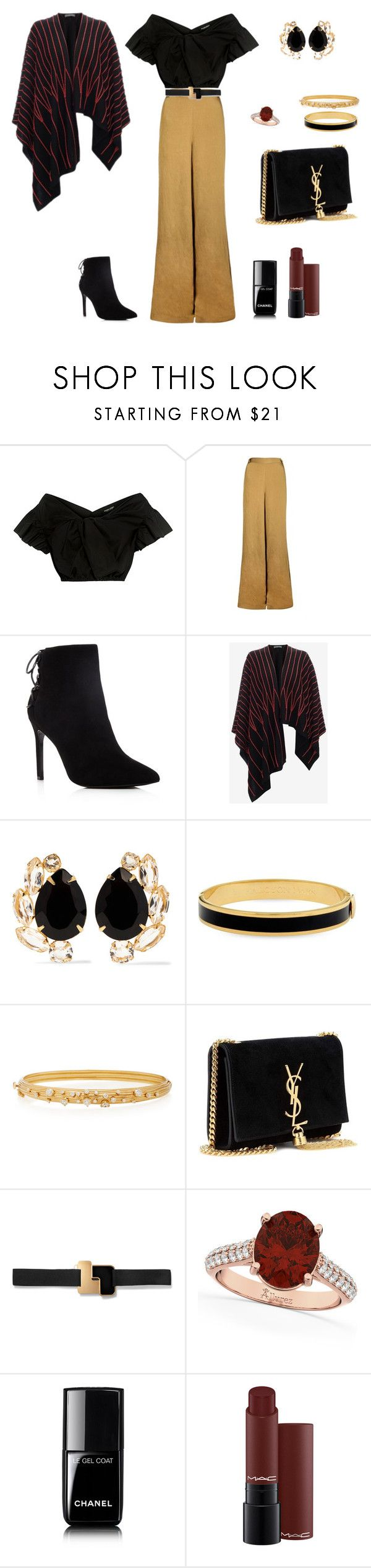 """m"" by ananleke on Polyvore featuring moda, Rachel Comey, The Bee's Sneeze, Charles David, Bounkit, Halcyon Days, Hueb, Yves Saint Laurent, Roksanda y Allurez"