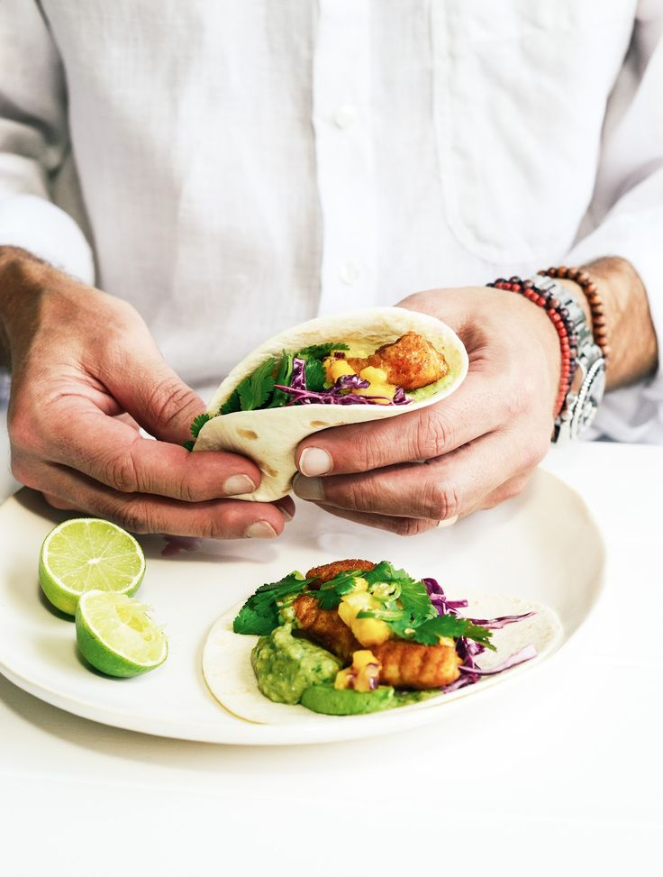 From The Kitchen: Spicy Fish Tacos with Mexican Salsa Verde