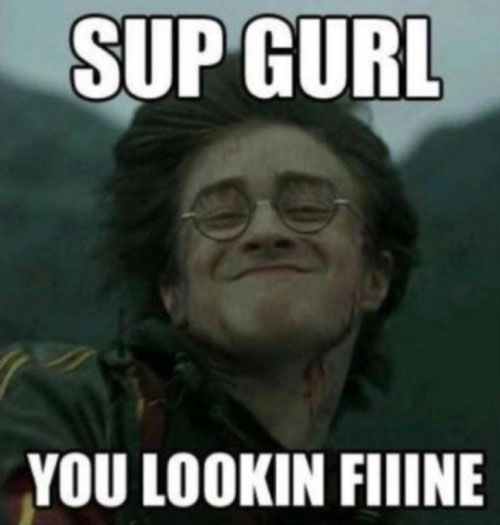 25 MORE Hilarious Harry Potter Memes | SMOSH I know this isn't Disney but i thought it was funny