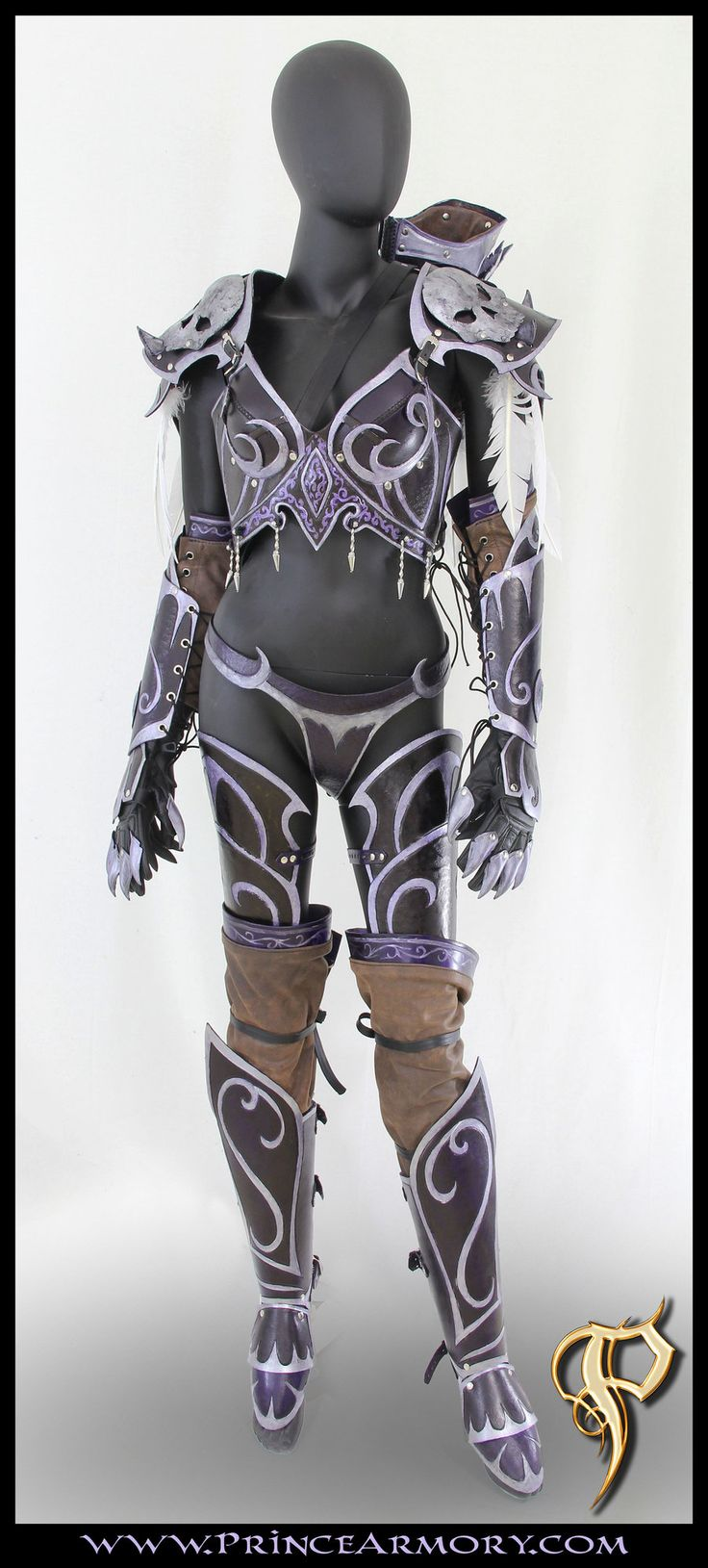 Sylvanas Windrunner Leather Armor by Azmal.deviantart.com on @deviantART