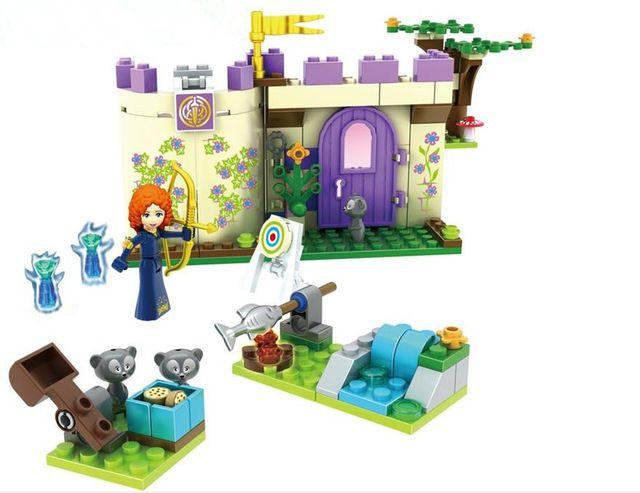 2016 Nouveau Amis Filles Princesse Merida Highland Games de Blocs de Construction Jouets Figurines Compatible avec Legoe Briques