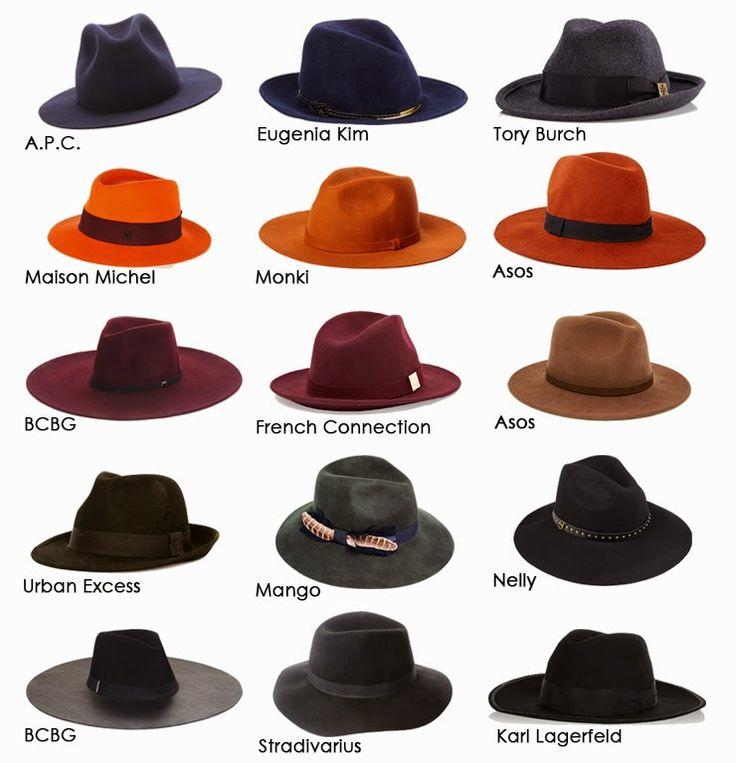 FALL ESSENTIALS: THE FEDORA HAT by www.Fashion-with-Style.com  #fedora #fashion…