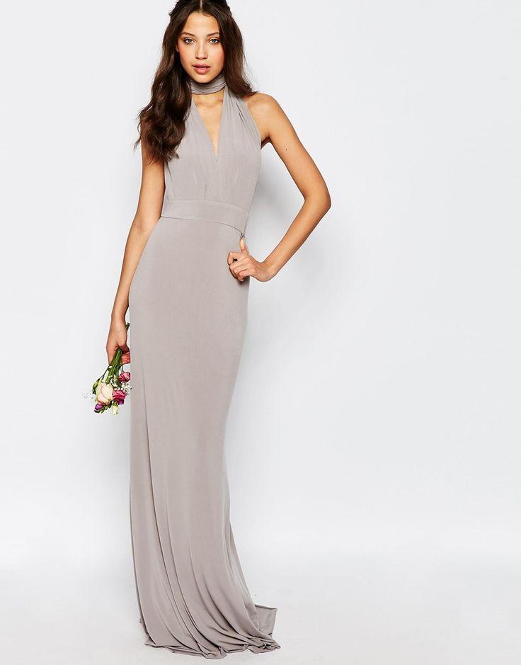 Tfnc tall wedding multiway fishtail maxi dress fishtail for Tall dresses for weddings