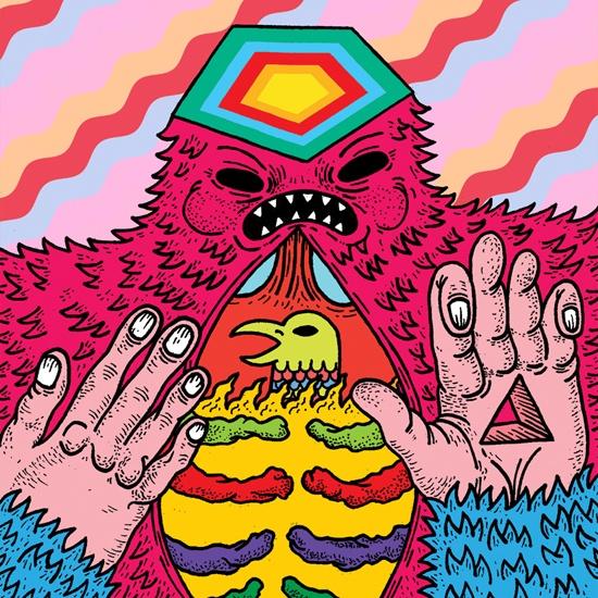 Monster illustration art design character