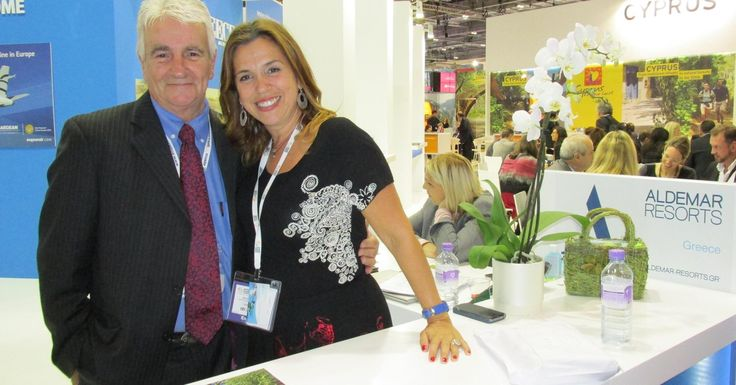 Peter Cox from Classic Collection Holidays and Mandy