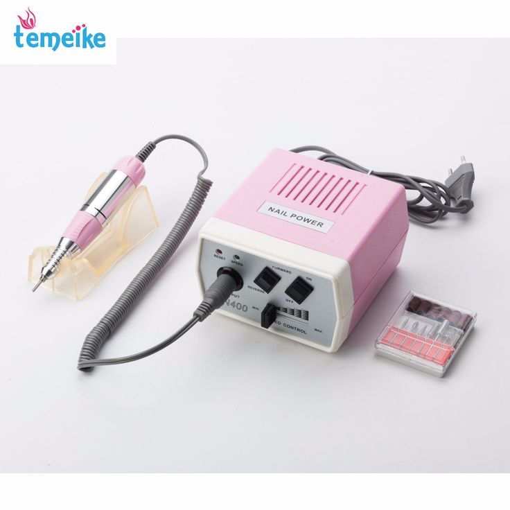 30000RPM Pink  nail art drill Nail Equipment Manicure Tools Pedicure Acrylics Grey Electric Nail Art Drill Pen Machine Set #Affiliate