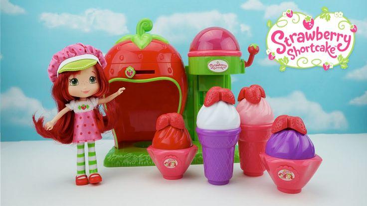 #rositafresita #juguetes #juguetesdeniña  Heladería de Juguete Rosita Fresita Juegos- Strawberry Shortcake en Español