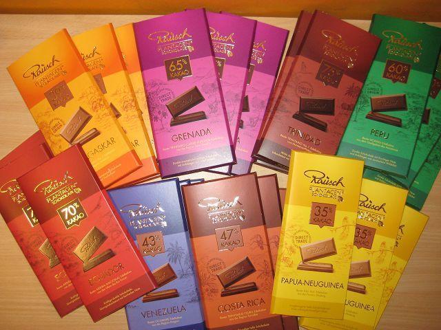 Feinste Schokolade von Rausch