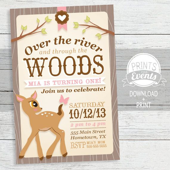 53 best WoodlandRed Ridinghood party invites images on Pinterest