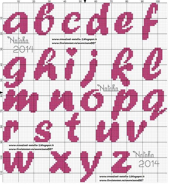 Alfabeto Natalia
