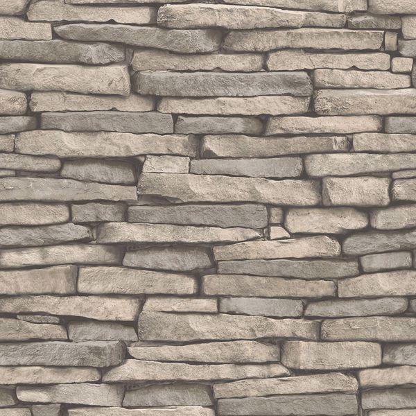 Hickory Creek Stone Peel Stick Wallpaper Stone Wallpaper Brick Effect Wallpaper Slate Effect Wallpaper