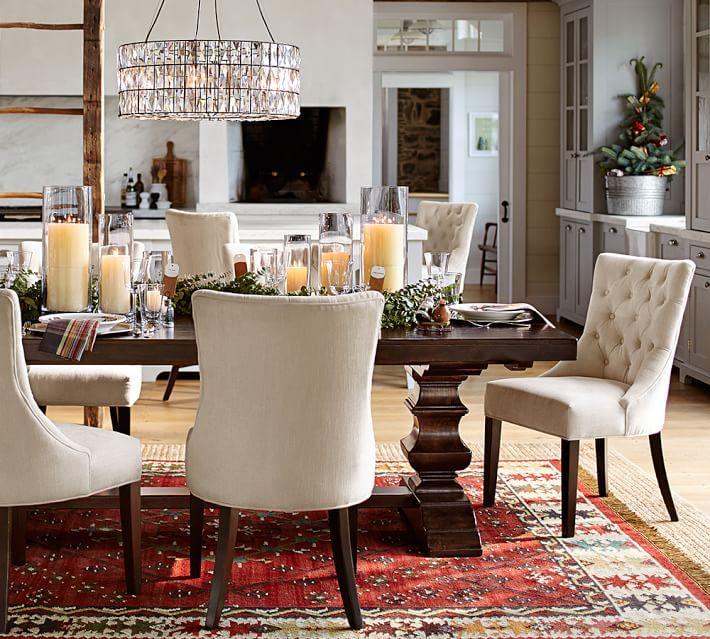 Pottery Barn Dining Room Lamp: Adeline Crystal Chandelier