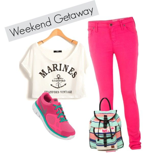 weekend getaway by salsabilathamrin on Polyvore