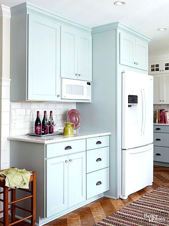 Best Cabinet Depth Refrigerator Ideas On Built In Charming Cottage Kitchen Makeover