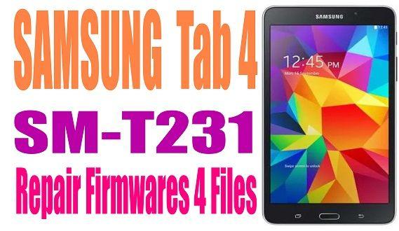 Samsung Tab 4 Sm T231 Firmware Unbrick Id