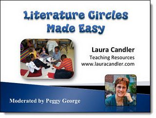 Literature Circles Made Easy - free webinar with Laura Candler on how to implement Classroom Book Clubs