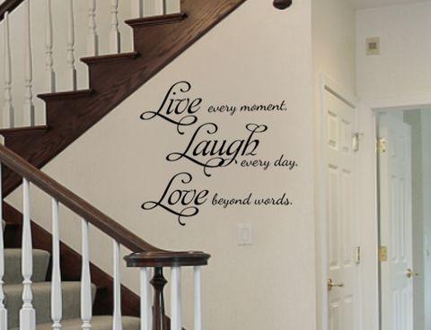 Wall Art Quotes best 10+ vinyl wall quotes ideas on pinterest | vinyl wall decor