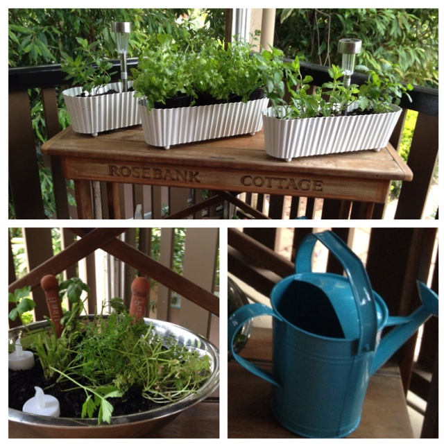 17 best images about herb garden on deck on pinterest for Decking back of garden