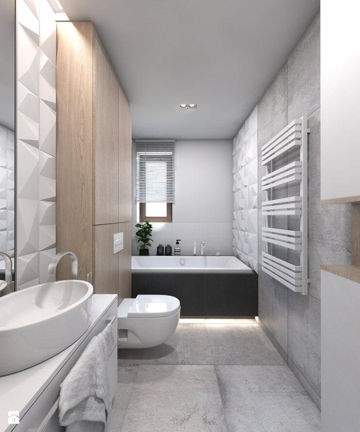 Łazienka styl Nowoczesny - zdjęcie od BAGUA Pracownia Architektury Wnętrz…