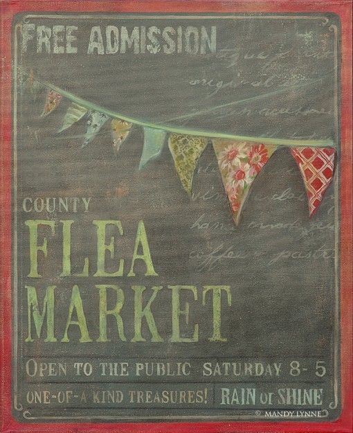 ♥ flea markets