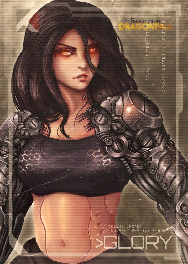 Glory - Shadowrun: Dragonfall by kylexy8835 on DeviantArt