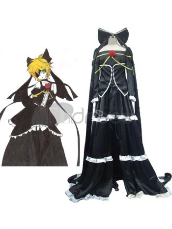 Vocaloid Imitation Black Cosplay Costume, Make you the same as Imitation Black in this Vocaloid cosplay costume for cosplay show.