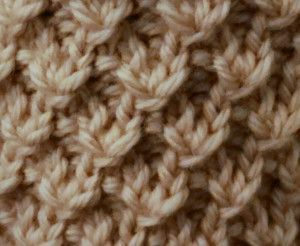Diagonal Knot Stitch