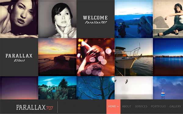 Check out Parallax707. Premium Bootstrap Template @bootstrapstage