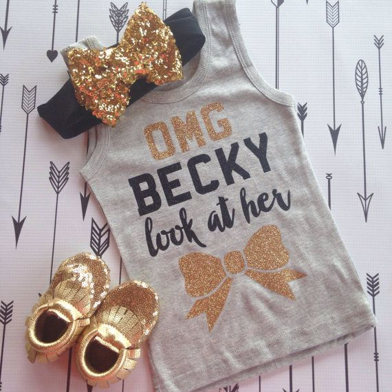 Omg Becky Look at her Bow Tank Look at her Bow by PurplePossom