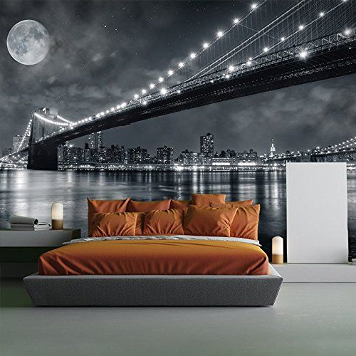 Brooklyn Bridge New York Skyline Cityscape Wall Mural Travel Photo  Wallpaper Available In 8 Sizes Gigantic Part 97