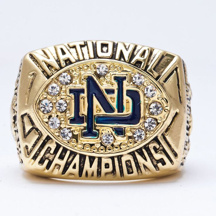 1988 Notre Dame National Collegiate Athletic University Championship Ring #New