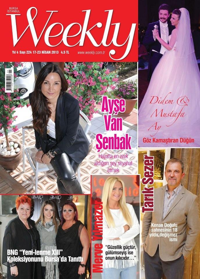 Weekly Dergisi, 17 - 23 Nisan sayısı yayında! Hemen okumak için: http://www.dijimecmua.com/weekly/
