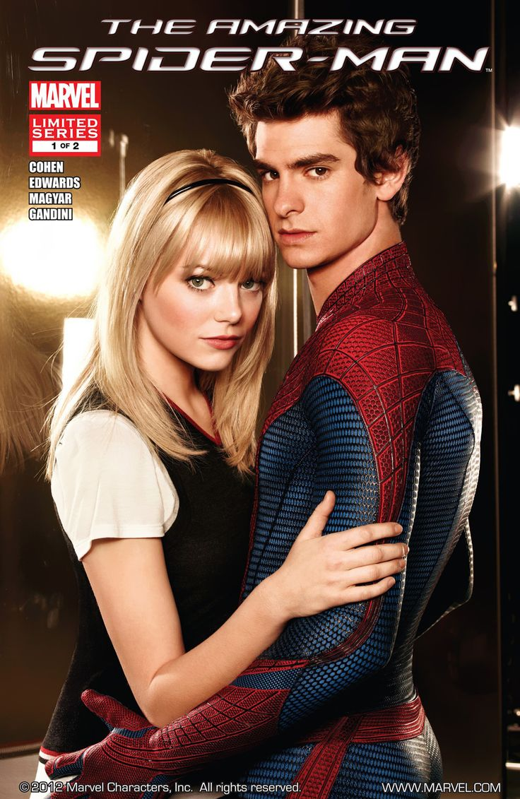 amazing spiderman 1 movie photos | Amazing Spider-Man: The Movie Vol 1 1 - Marvel Comics Database