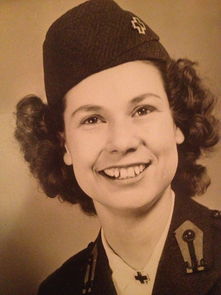 Virginia Weisbrod from Princeton , Minnesota  Group E. Unknown Clubmobile